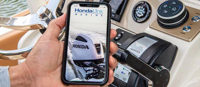 HondaLink marine smartphone app