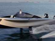 Supercar Blondie Test Drives $1 Million 'Flying Yacht'