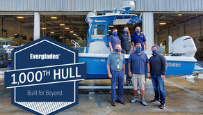 Everglades Reaches Milestone with 1000th 243cc Hull