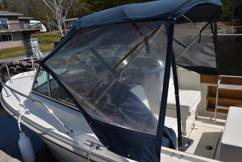 Damaged Viewflex reducing visibility