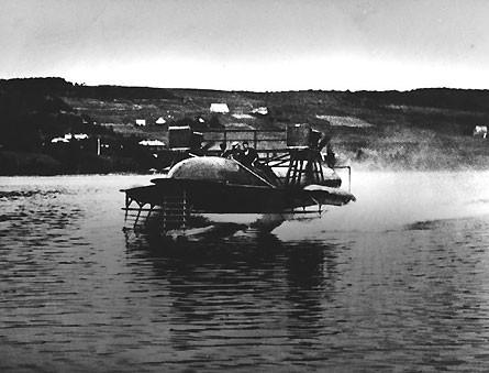 HD4 hydrofoil test run 1919