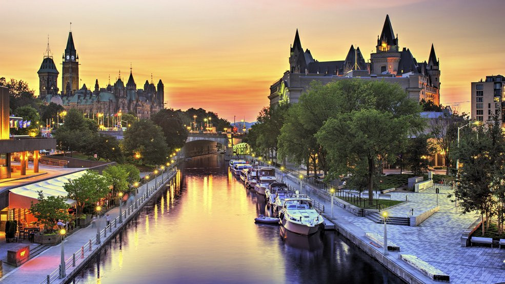 The Rideau Canal Ottawa