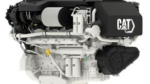 Caterpillar Releases 2433 HP Marine Engine