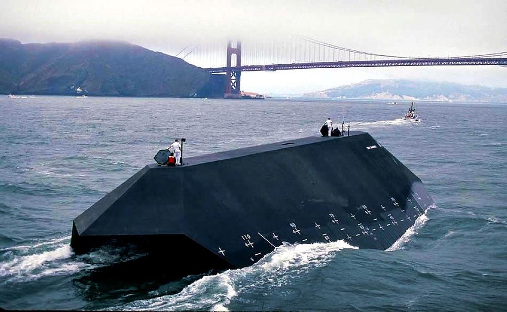 U.S Navy Sea Shadow IX-529 San Francisco