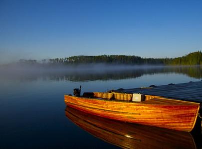 Giesler 18' fishing boat