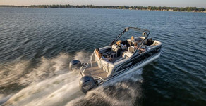 Godfrey Marine Unveils First Dual-Engine Pontoon and New Performance Tubes for 2021