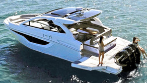 All-New Cruiser Yachts 42 GLS Debuts at Fort Lauderdale to Rave Reviews