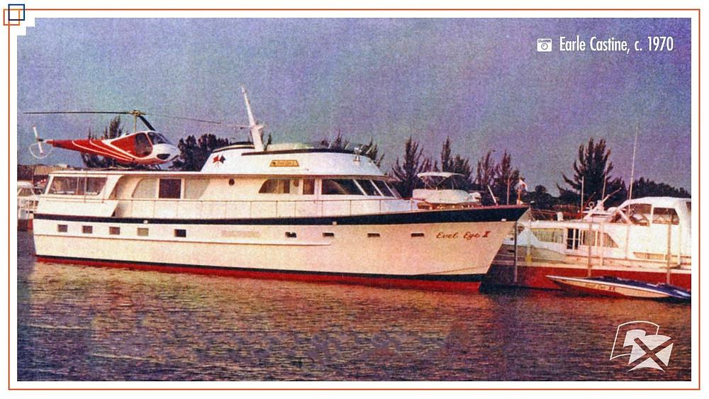 Evel Knievel yacht 1976