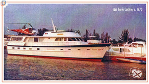 #WeirdBoats- Daredevil Evel Knievel's Custom Yacht Now a Floating Shrine in Canada