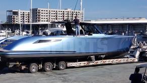 Tom Brady Adjusting to Florida Life with Custom Wajer 55S Yacht