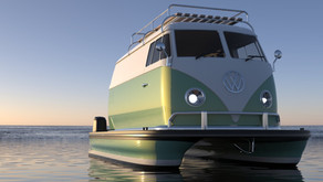 Floating Motors is 'Resto-Floating' Classic Car Designs Into Modern Boats