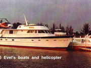 #WeirdBoats- Daredevil Evel Knievel's Custom Yacht Now a Floating Shrine in Canada