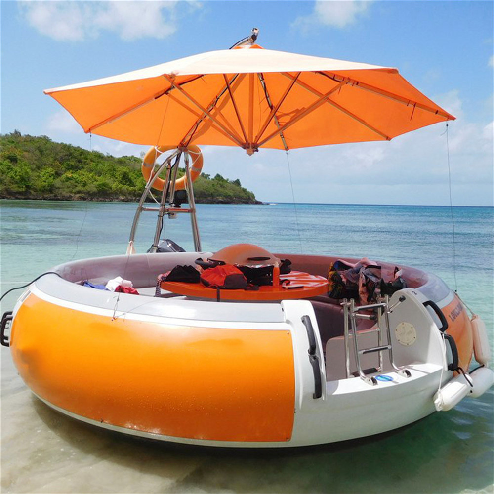 Leisure Electric BBQ Donut Boat