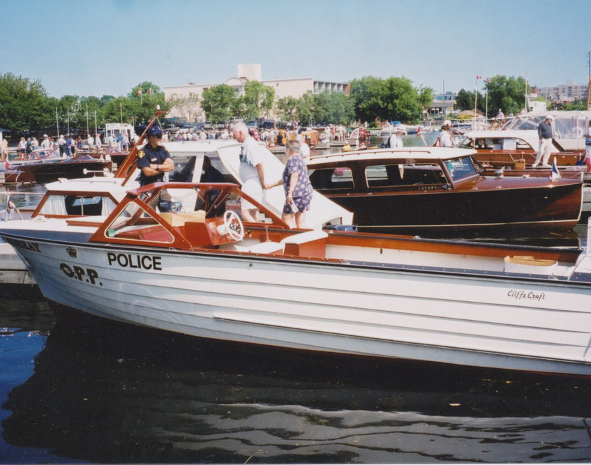 Cliffe Craft Boat at dock