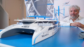 #WeirdBoats - French Team Designs Ocean Cleaning Yacht That Uses Plastic as Fuel
