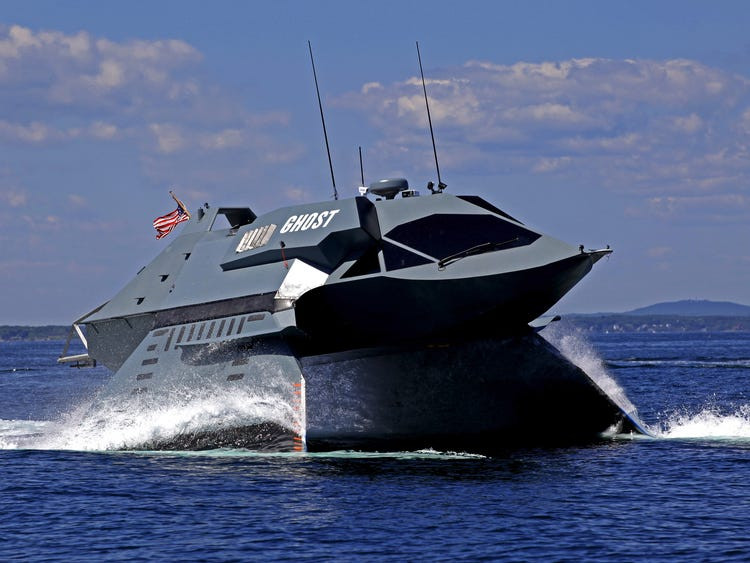 Juliet Marine Systems 'Ghost' ship