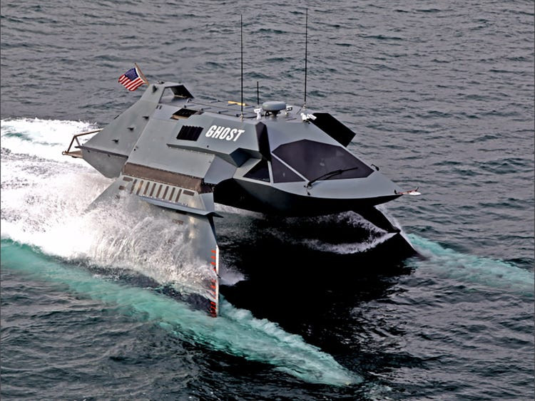 Juliet Marine Systems Ghost Ship prototype