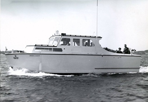 "OPP Patrol Boat- ""Joseph E Rogers"""