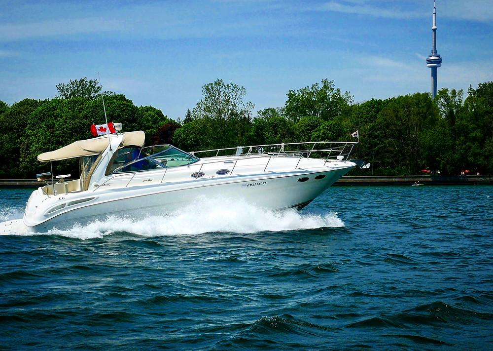 Boating Toronto Islands