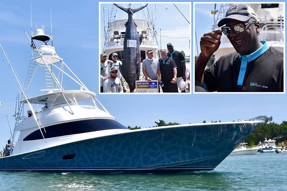 Michael Jordan Viking Yacht Catch-23