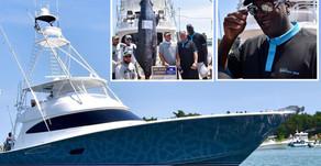 NBA Legend Michael Jordan Reels in Massive 442 lb. Marlin in Custom 80' Viking Yacht 'Catch 23'