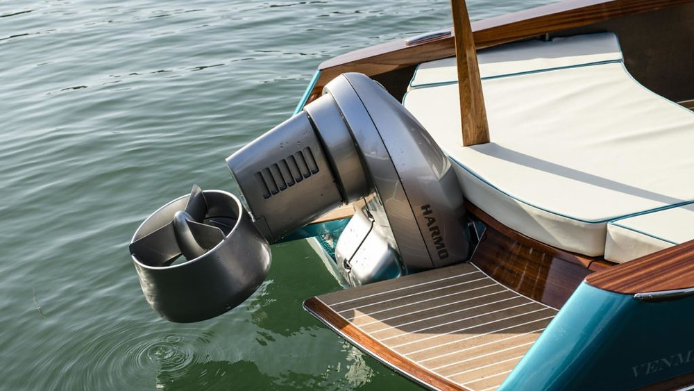 Yamaha Harmo electric outboard propulsion system