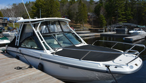 Spring Cleaning - How to Maintain Your Boat Top