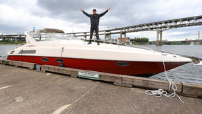 Cool Story- Man Buys Rare 30 Yr Old Italian Yacht For Unique Rebuild Project