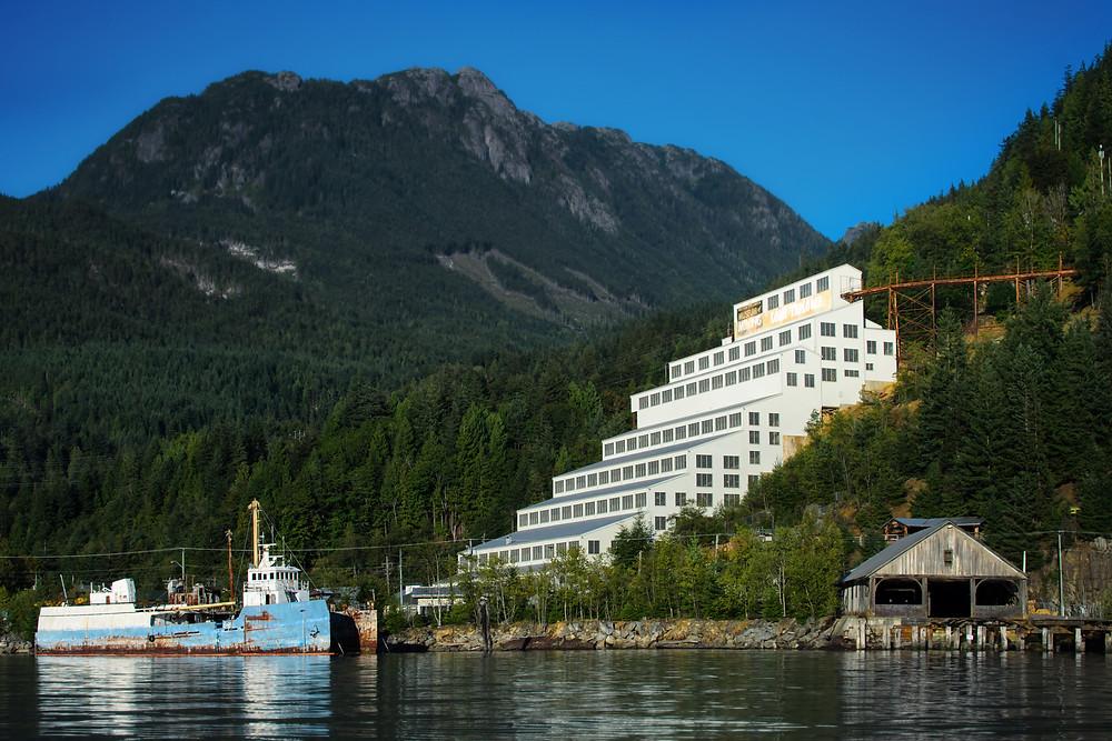 Brittania Mines Museum Howe Sound BC