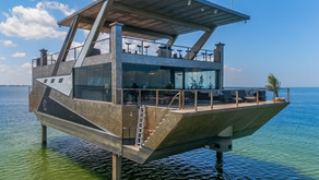 #WeirdBoats - The Mansion Yacht is Half Aquatic, Half Terrestrial, and a Total Enigma