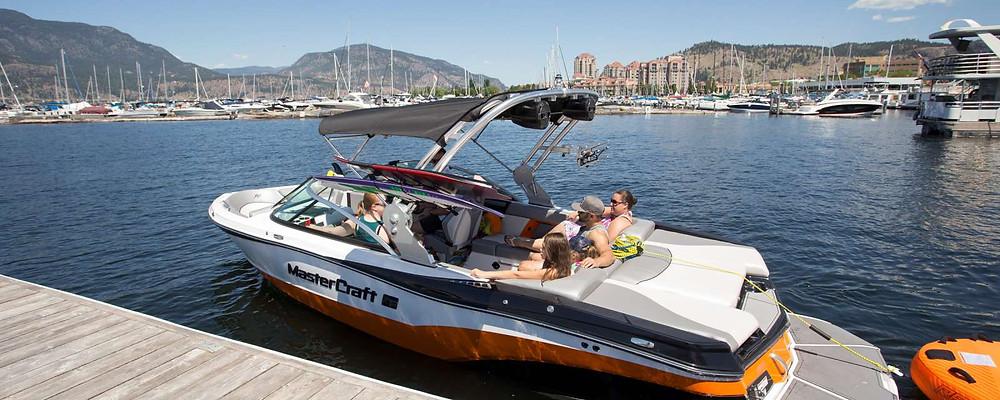 Okanagan Lake BC boat launch
