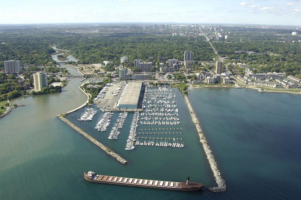 Port Credit marina harbour