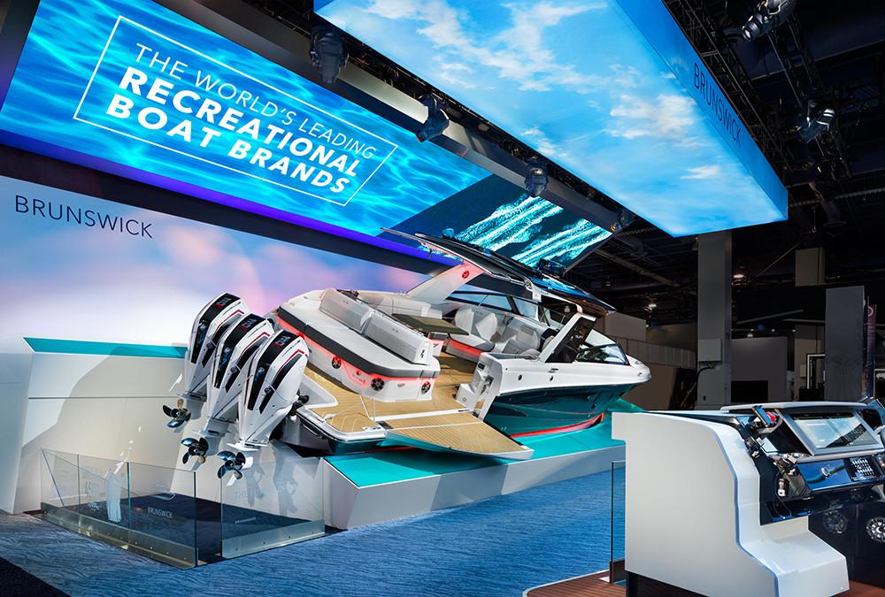 Brunswick Corporation Sea Ray SLX-R 400e CES 2020