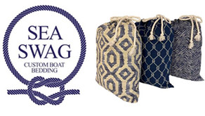 Universal Sheets from Sea Swag Custom Marine Bedding Now Available in Canada