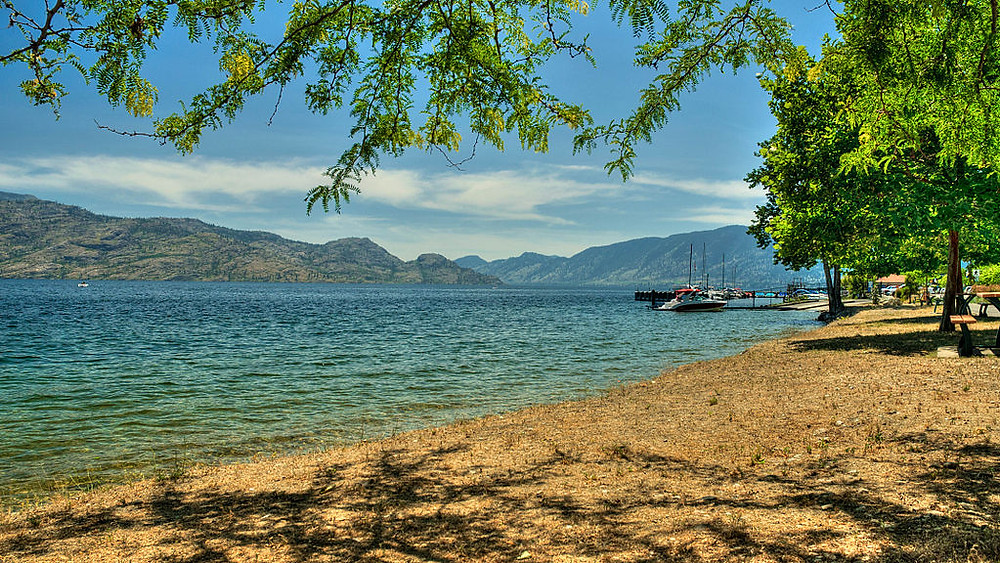 Okanagan Lake British Columbia