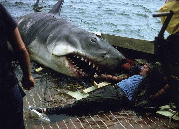 Robert Shaw Jaws Orca boat