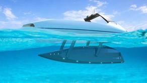 #WeirdBoats- The Futuristic Platypus Swordfish is Half Sport Boat, Half Submarine