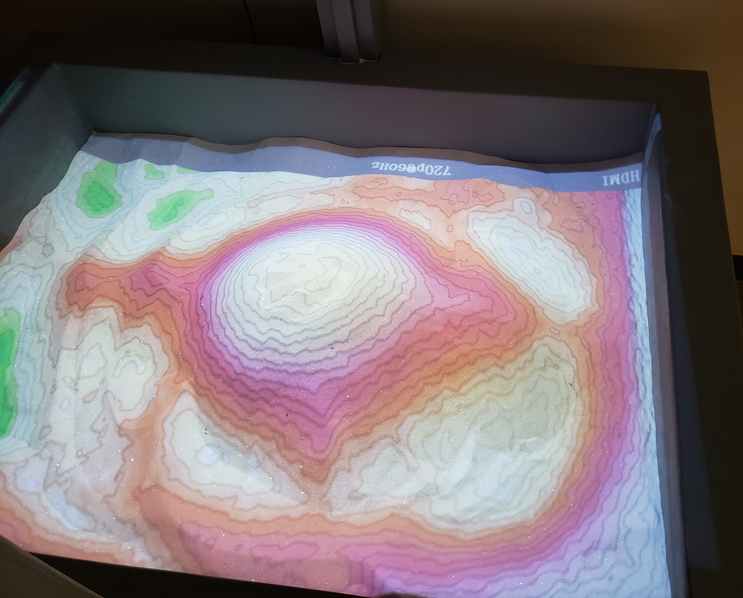 Augmented Reality Sand Table
