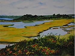 yellow grasses in lagoon- Hiatt.jpg
