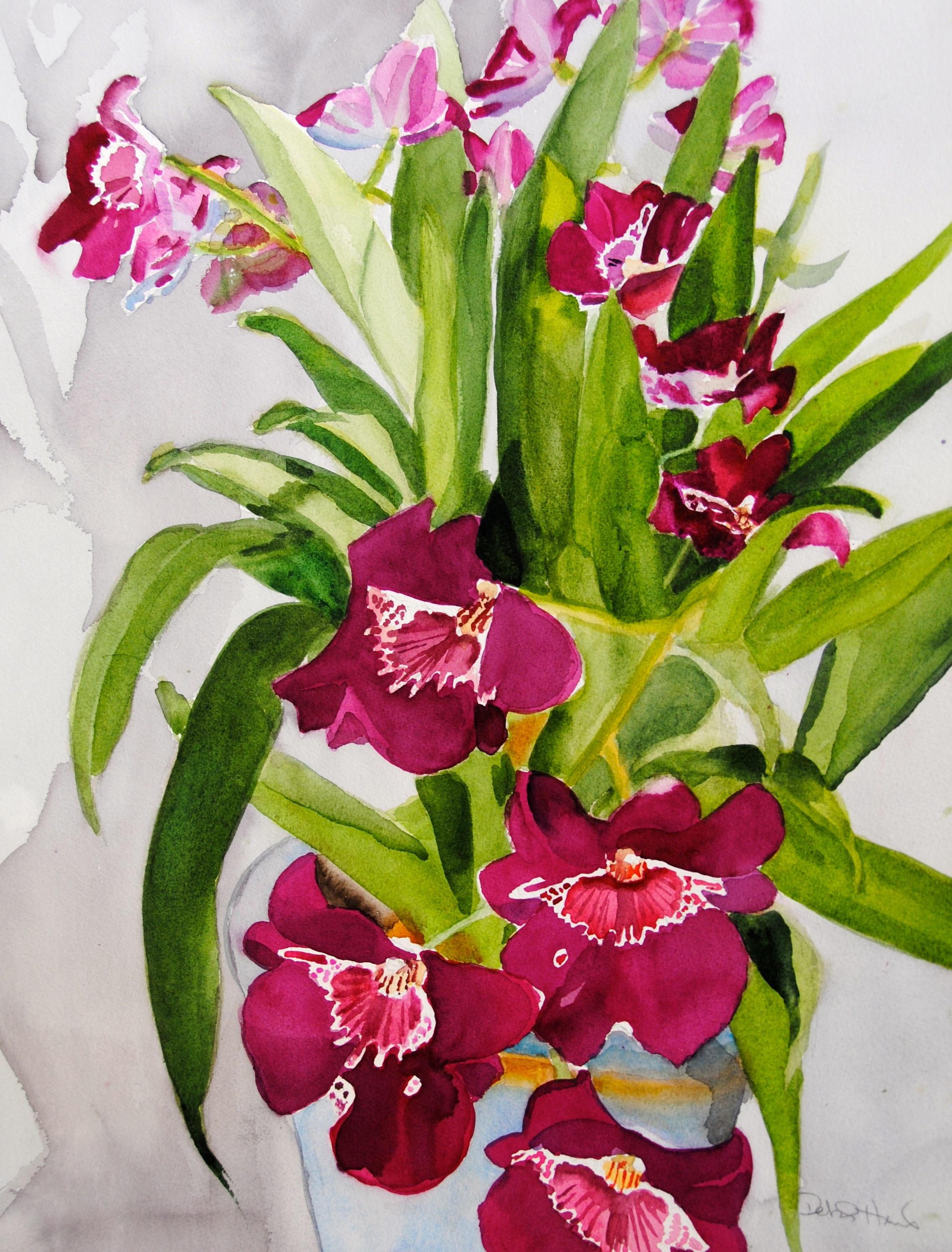 orchid in blue vase 2.jpg