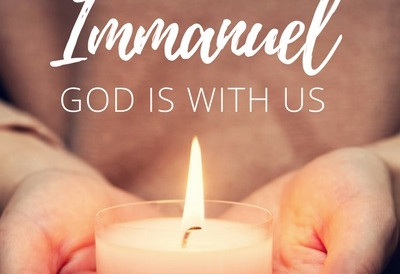 Immanuel God is with us!
