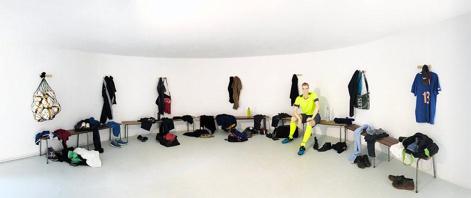 Ouïsol Martin Cherel Arbitre Installation Art contemporain vue général