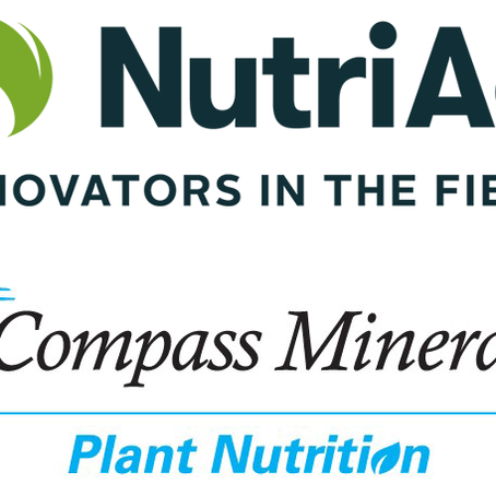 NutriAg and Compass Minerals Plant Nutrition Expand Offerings