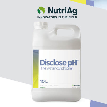 NutriAg Launches New Water Conditioner in Canada Called Disclose pH®