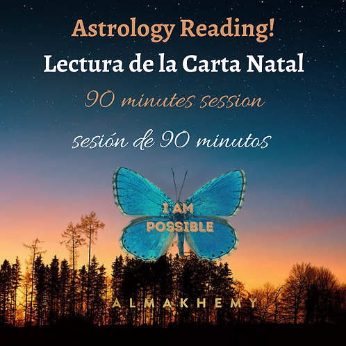 Astrology reading with Mar