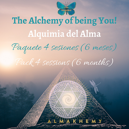 The Alchemy of Being You. PACK 4 SESSIONS