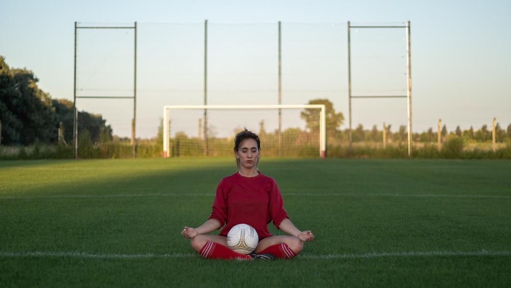 calibración con pelota de futbol