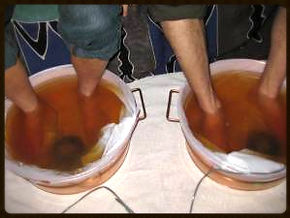 Double the fun in this Ionic Detox Footbath!
