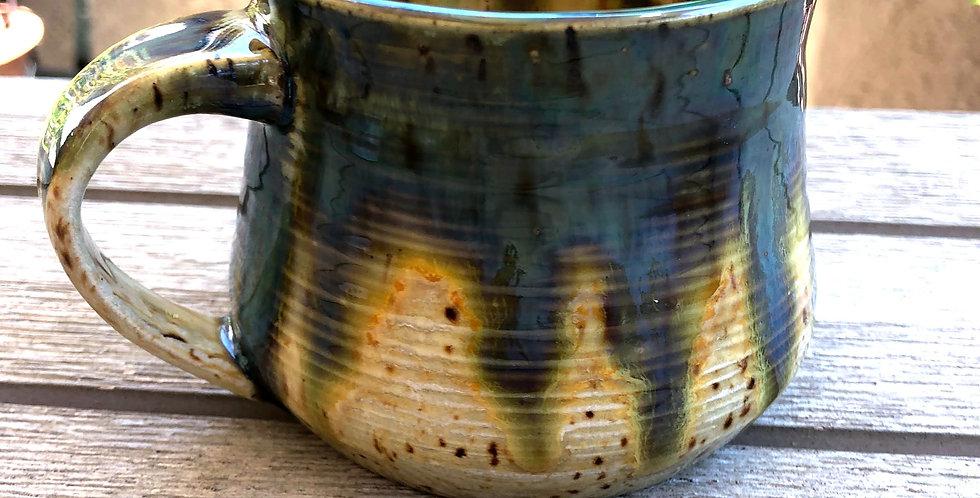 Drippy Iridescent Mug