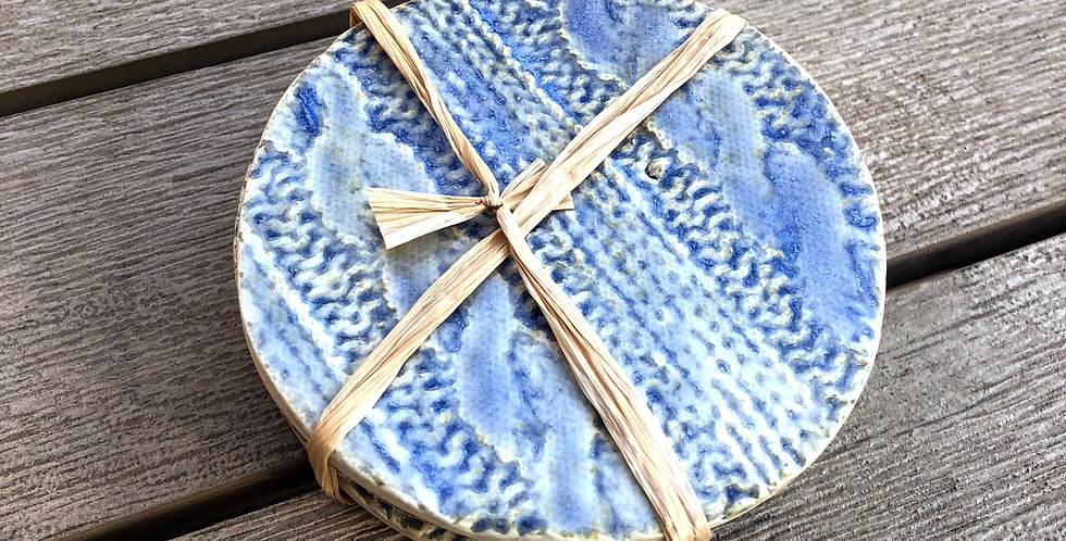 Sweater Coasters